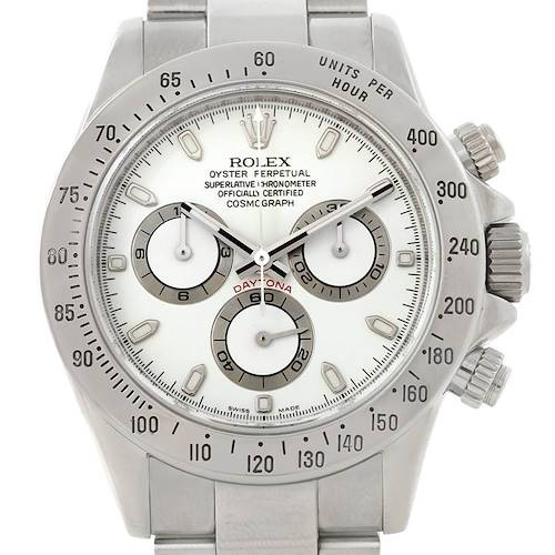 Photo of Rolex Cosmograph Daytona Steel Mens Watch 116520