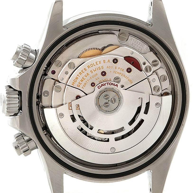 8099 Rolex Cosmograph Daytona Steel Mens Watch 116520 SwissWatchExpo
