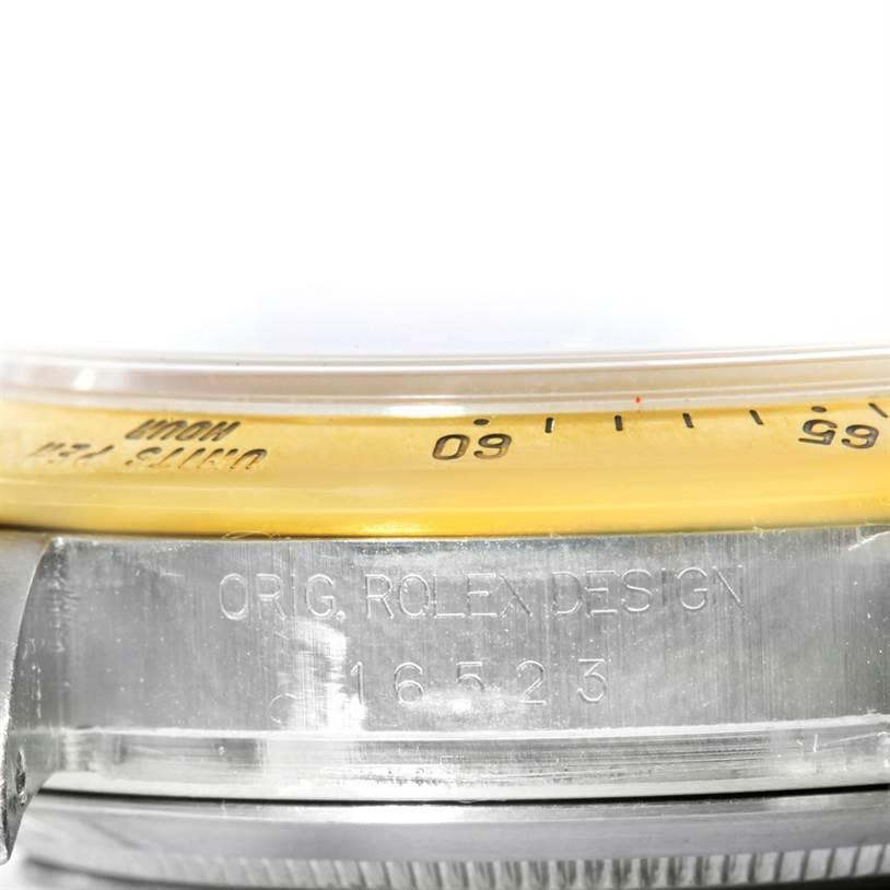 8634 Rolex Cosmograph Daytona Steel 18K Yellow Gold White Dial Watch 16523 SwissWatchExpo
