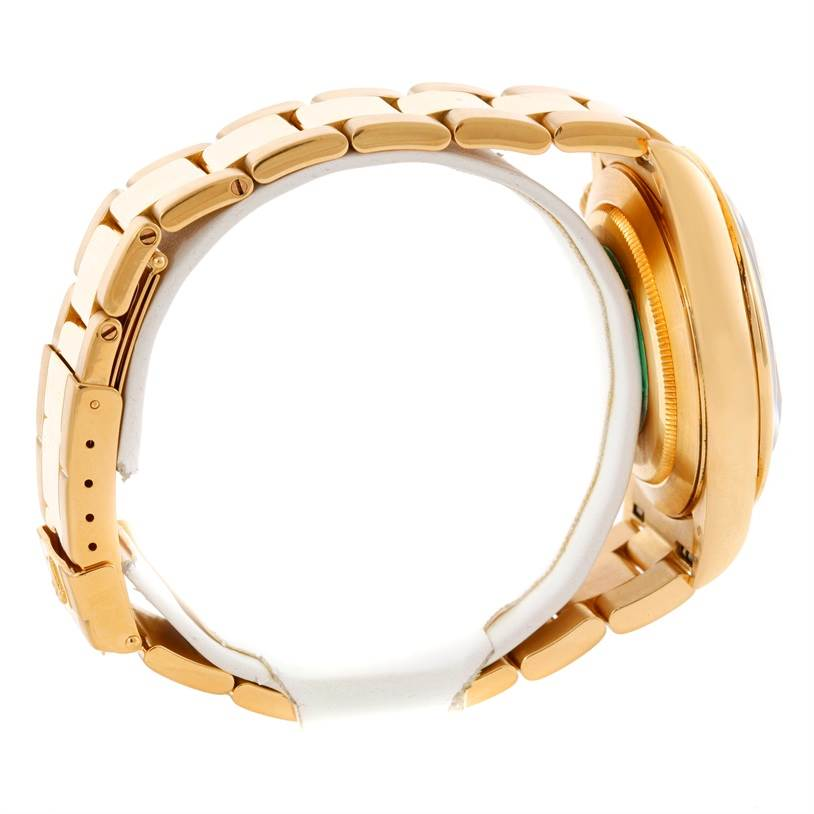 Rolex Cosmograph Daytona 18K Yellow Gold Diamond Watch 16528 SwissWatchExpo
