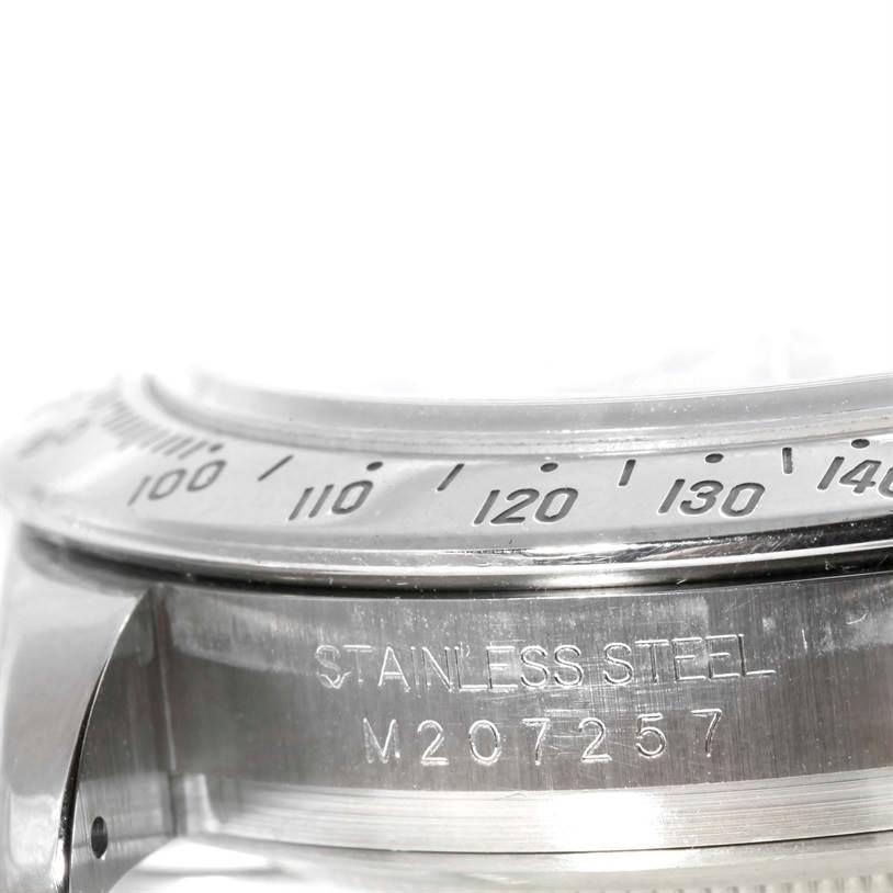 9924P Rolex Cosmograph Daytona Steel White Dial Mens Watch 116520 SwissWatchExpo