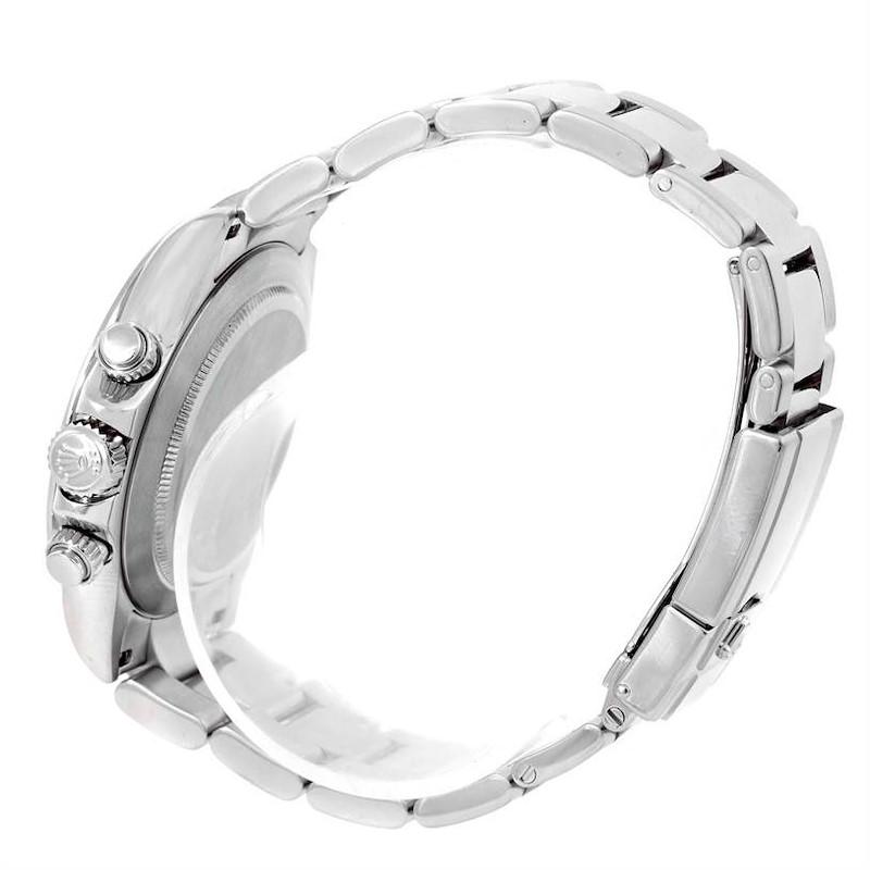 Rolex Cosmograph Daytona White Dial Steel Mens Watch 116520 SwissWatchExpo