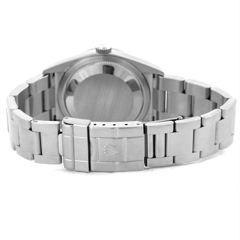 Rolex Explorer I Black Dial Stainless Steel Mens Watch 114270 SwissWatchExpo