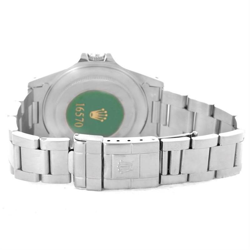 Rolex Explorer II White Dial Automatic Mens Watch 16570 Unworn SwissWatchExpo