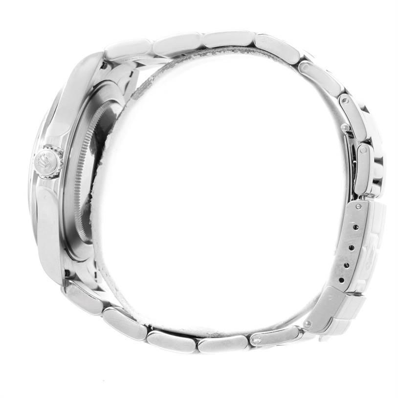 Rolex Explorer II Parachrom Hairspring Steel White Dial Watch 16570 SwissWatchExpo