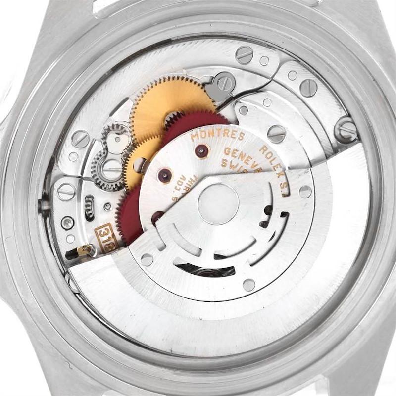 Rolex Explorer II White Dial Steel Mens Watch 16570 SwissWatchExpo