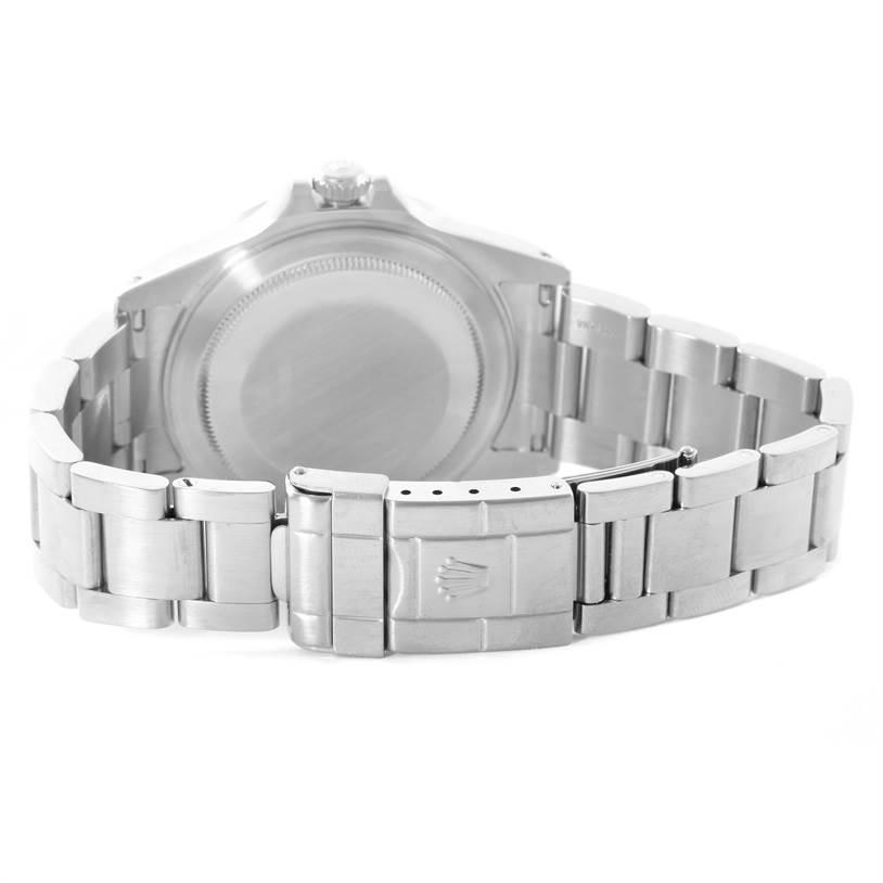 Rolex Explorer II White Dial Stainless Steel Mens Watch 16570 Year 2002 SwissWatchExpo