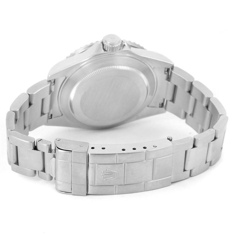 Rolex Submariner Green Bezel 50th Anniversary Steel Watch 16610LV SwissWatchExpo