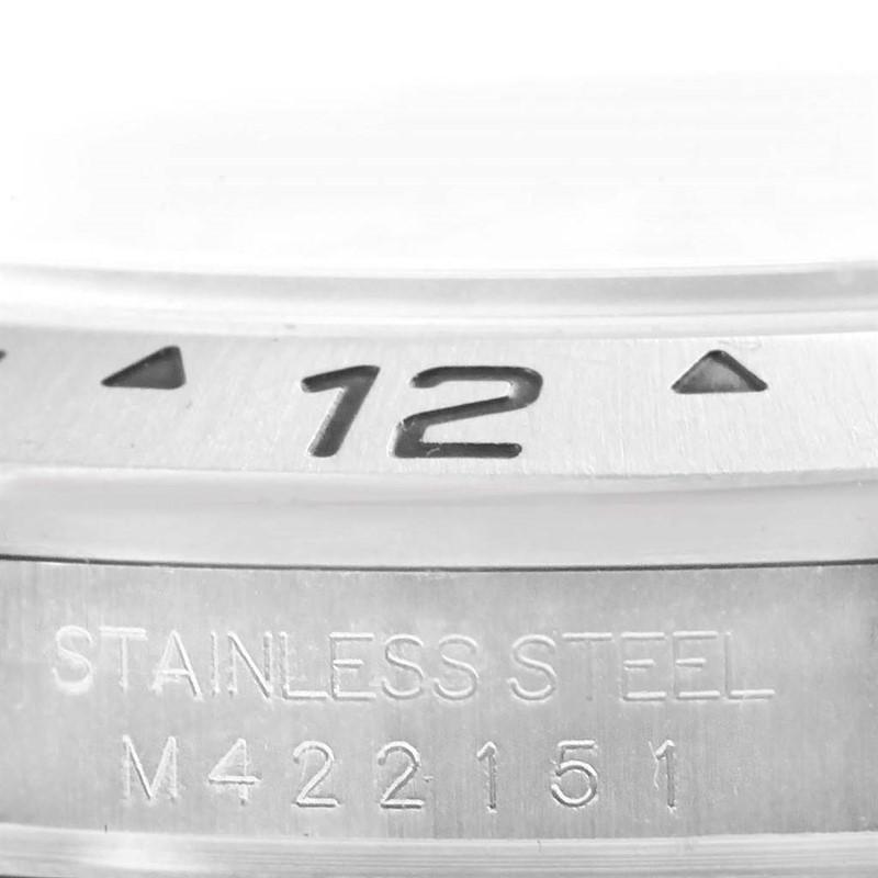 Rolex Explorer II White Dial Parachrom Hairspring Steel Mens Watch 16570 SwissWatchExpo