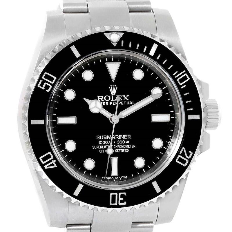 Rolex Submariner Mens Ceramic Bezel Automatic Mens Watch 114060 SwissWatchExpo