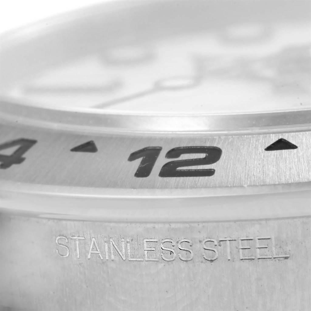 Rolex Explorer II Stainless Steel White Dial Watch 216570 Box SwissWatchExpo