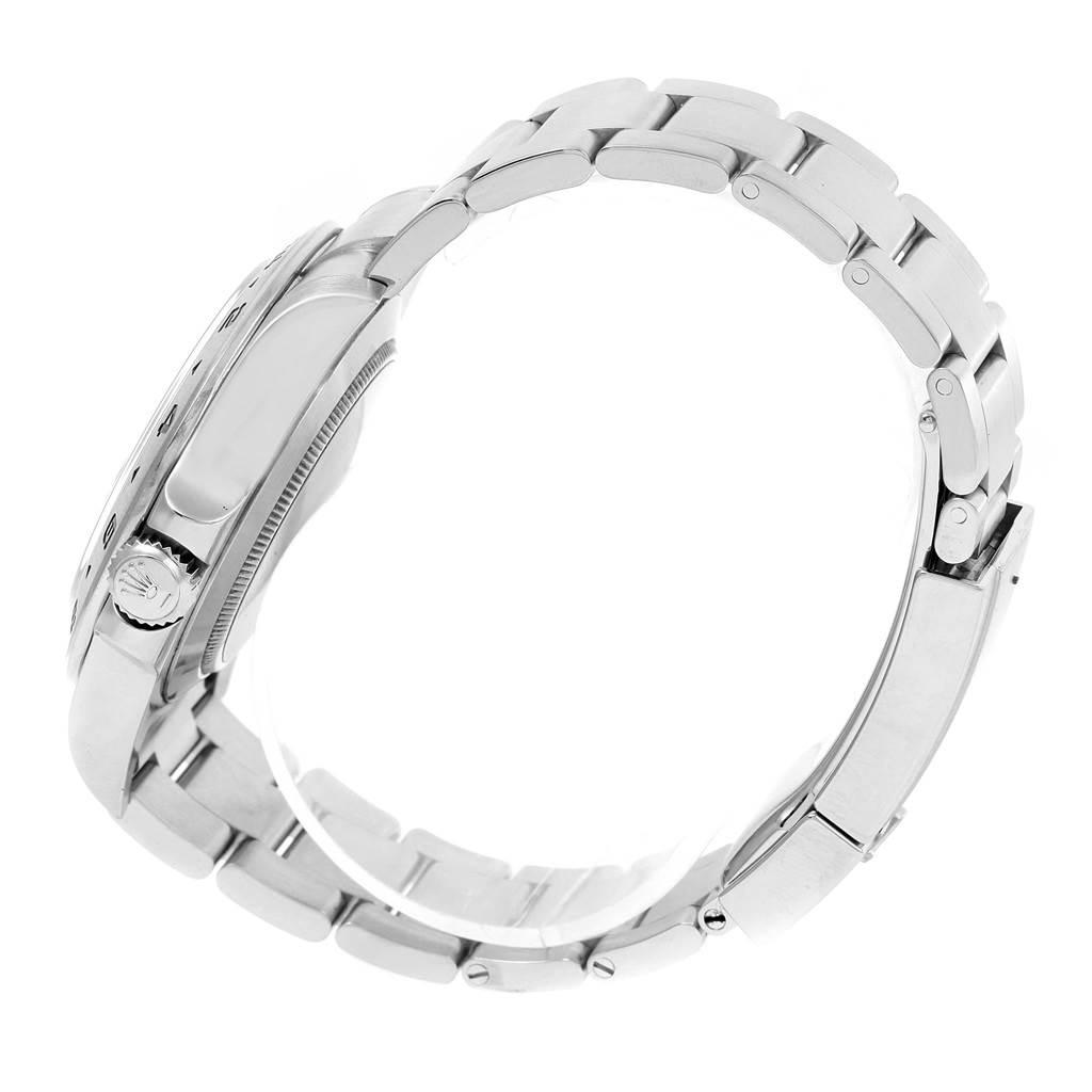 Rolex Explorer II Stainless Steel Black Dial Watch 216570 Box SwissWatchExpo