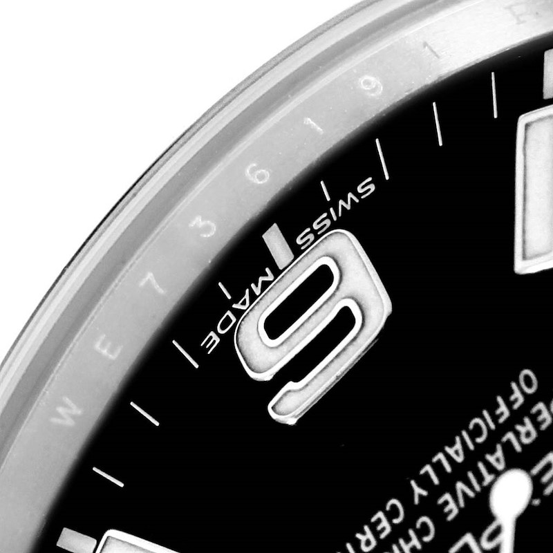 Rolex Explorer I 39mm Steel Automatic Mens Watch 214270 SwissWatchExpo