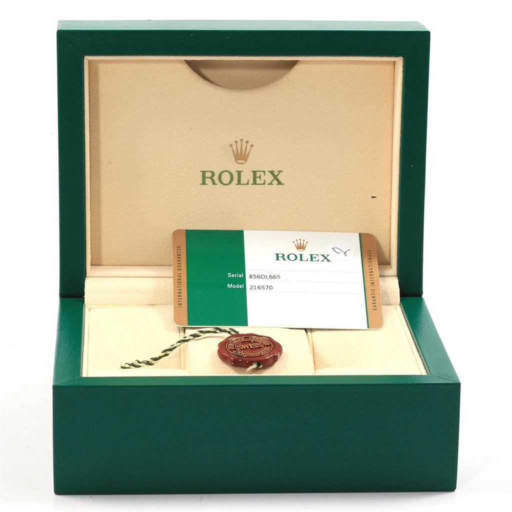 Rolex Explorer II 42 White Dial Stainless Steel Watch 216570 Box Card SwissWatchExpo