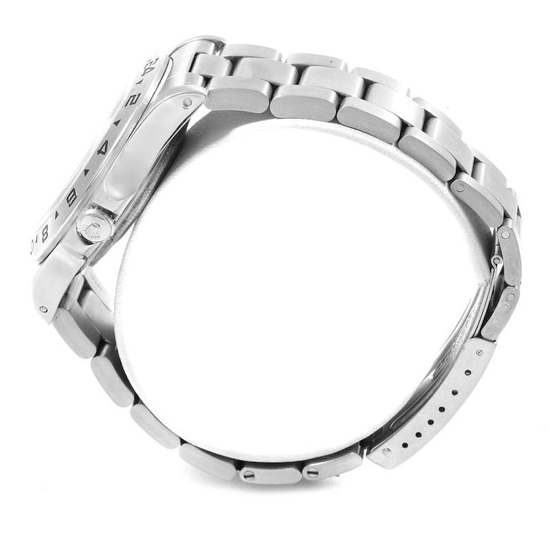 Rolex Explorer II Transitional Stainless Steel Mens Watch 16550 SwissWatchExpo