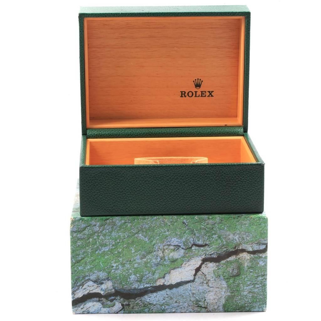 Rolex Explorer II 40 Black Dial Red Hand Automatic Mens Watch 16570 SwissWatchExpo