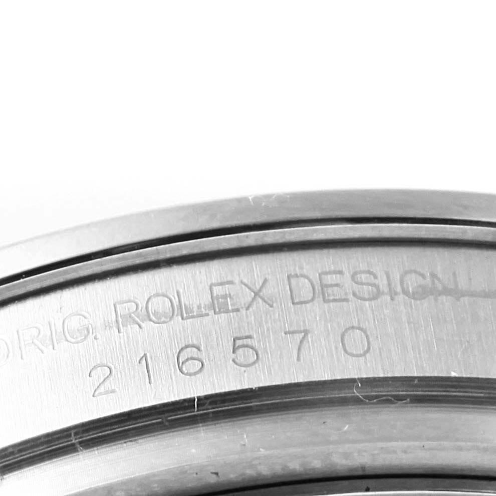 Rolex Explorer II 42 White Dial Orange Hand Steel Men's Watch 216570 SwissWatchExpo