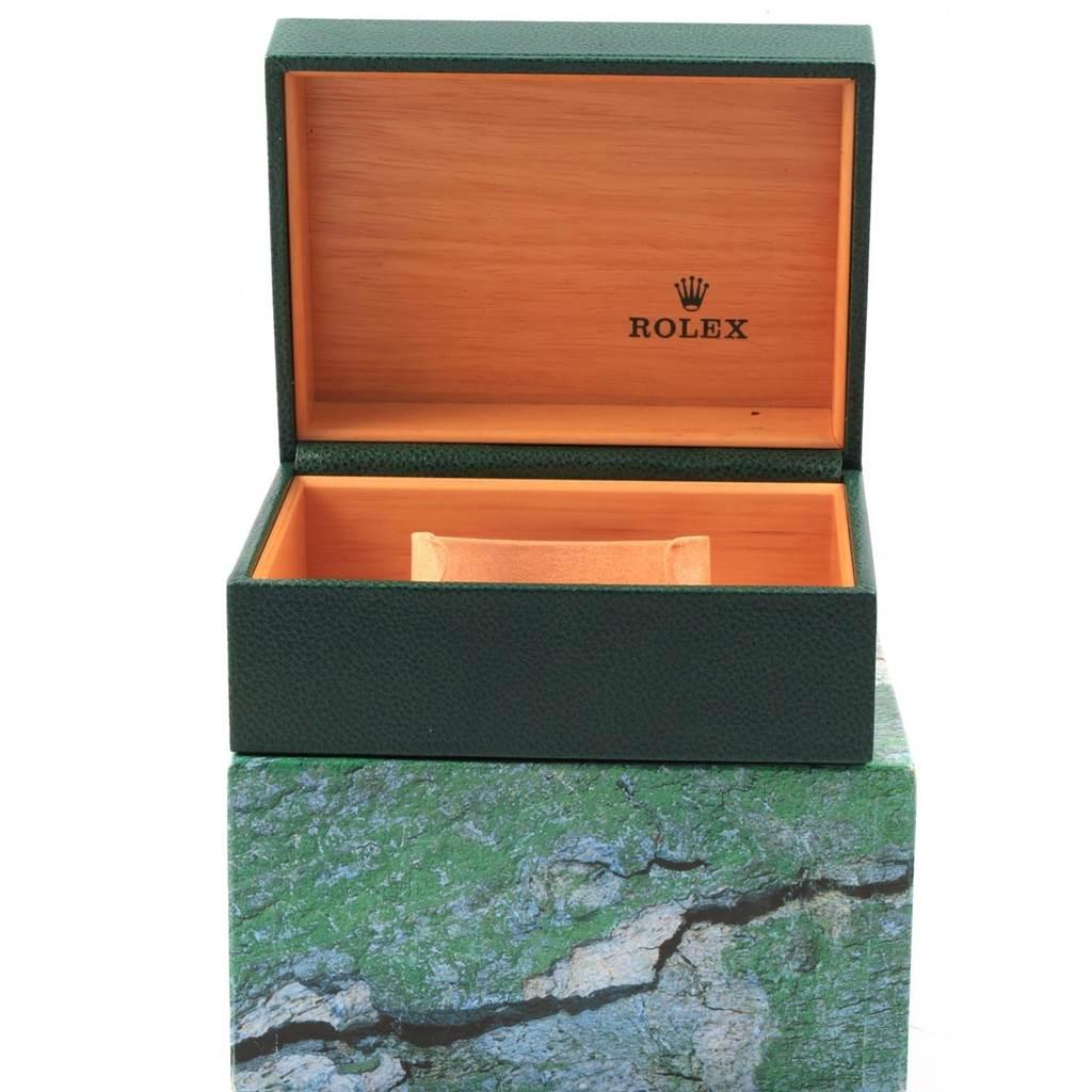 Rolex Explorer II White Dial Red Hand Steel Watch 16570 Box SwissWatchExpo