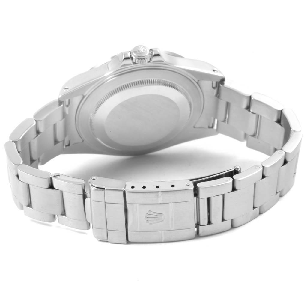 Rolex Explorer II White Dial Red Hand Mens Watch 16570 Box SwissWatchExpo