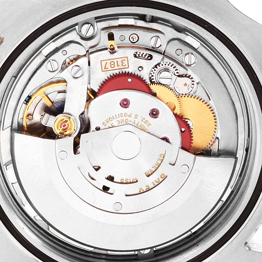 Rolex Explorer II 42mm Black Dial Orange Hand Mens Watch 216570 SwissWatchExpo