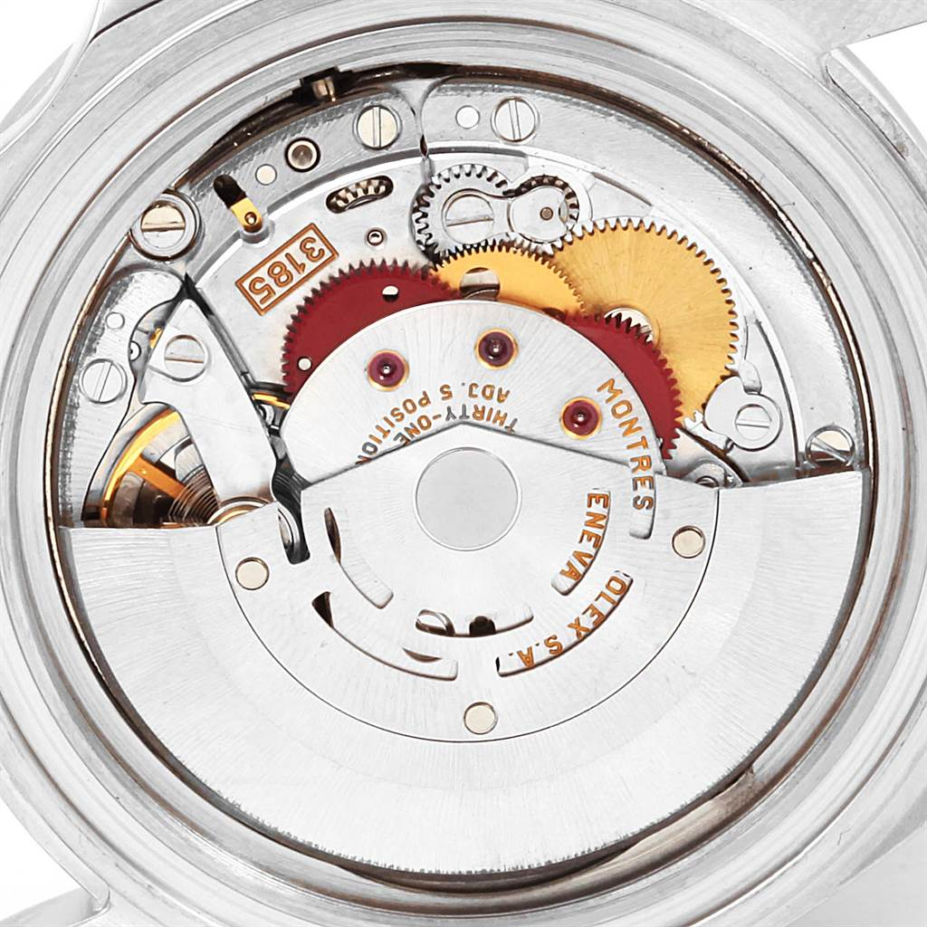 23196 Rolex Explorer II White Dial Red Hand Steel Mens Watch 16570 SwissWatchExpo