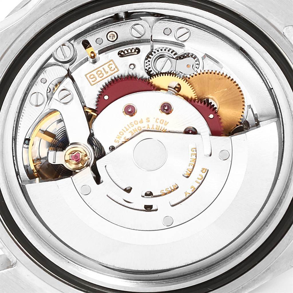 Rolex Explorer II 40mm Black Dial Parachrom Hairspring Mens Watch 16570 SwissWatchExpo