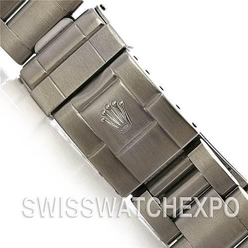 Rolex Explorer Mens Ss 114270 Black Dial Circa 2005 SwissWatchExpo