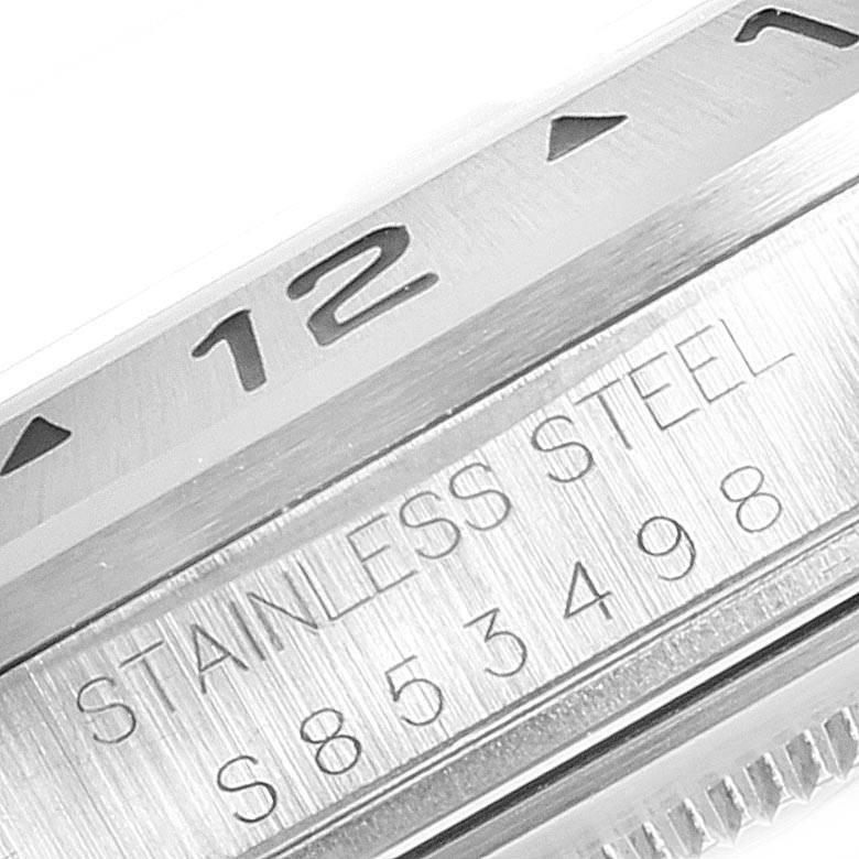 23457 Rolex Explorer II White Dial Red Hand Steel Mens Watch 16570 Box Papers SwissWatchExpo