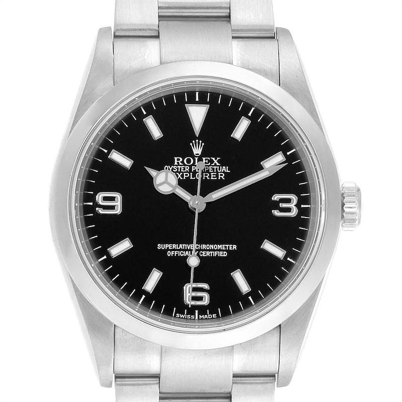 Rolex Explorer I Automatic Steel Mens Watch 114270 SwissWatchExpo