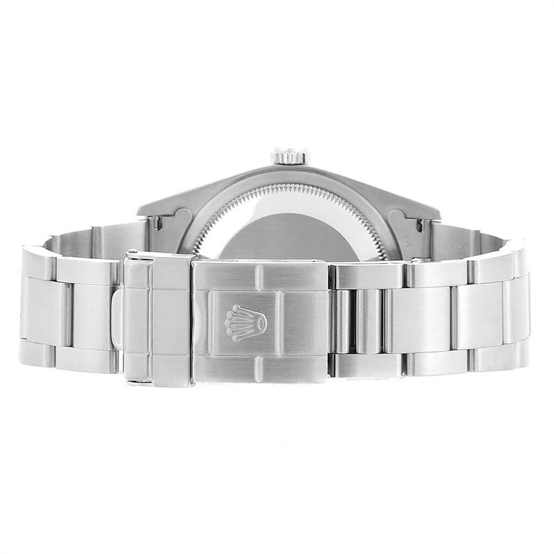 Rolex Explorer I 36 Black Dial Oyster Bracelet Steel Mens Watch 14270 SwissWatchExpo