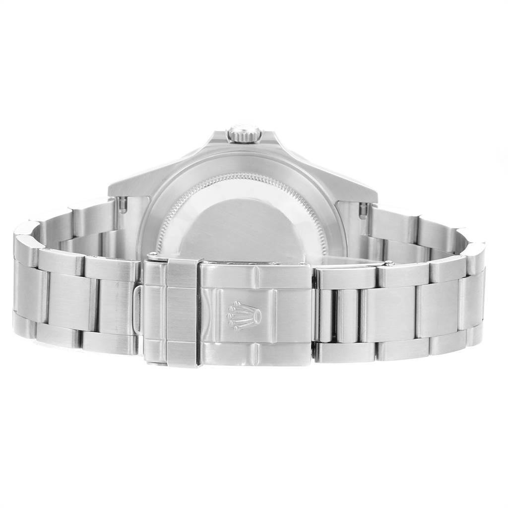 23755 Rolex Explorer II White Dial Red Hand Steel Mens Watch 16570 Box Papers SwissWatchExpo