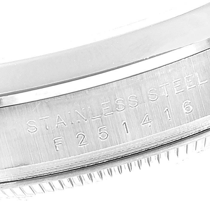 23464 Rolex Explorer I 36mm Black Dial Steel Mens Watch 114270 SwissWatchExpo
