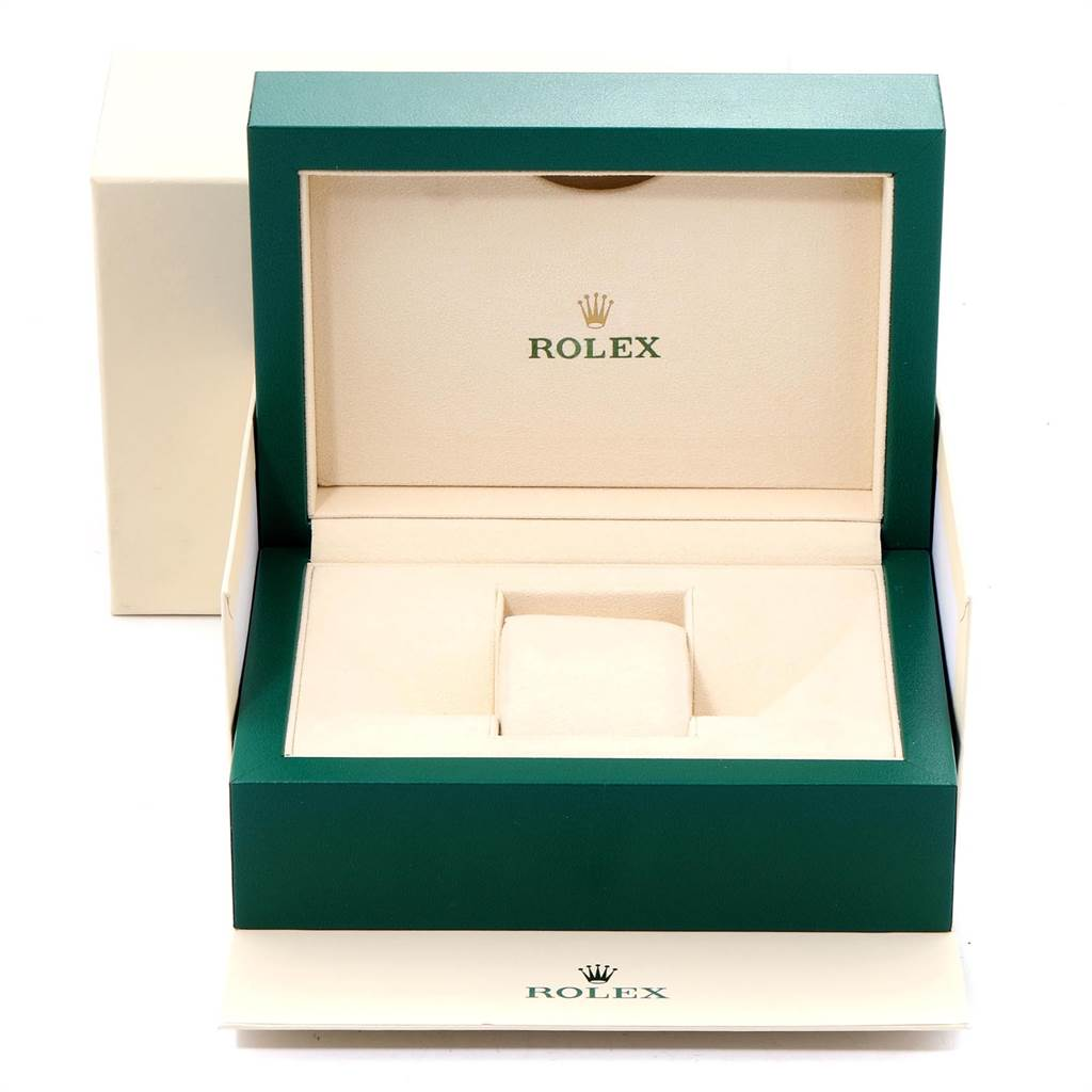 23779 Rolex Explorer II 42 Orange Hand Steel Mens Watch 216570 Box Card SwissWatchExpo