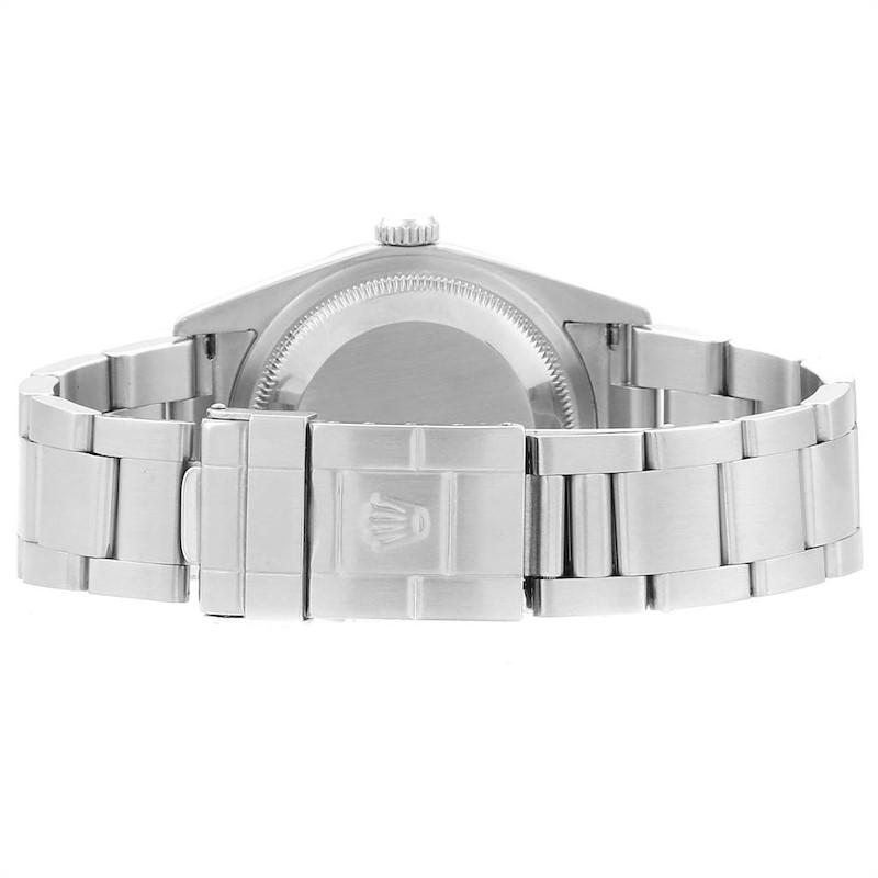 Rolex Explorer I 36 Black Dial Oyster Bracelet Steel Mens Watch 114270 SwissWatchExpo