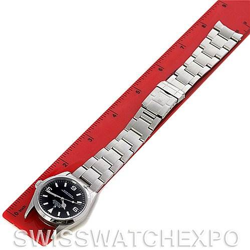 2582 Rolex Explorer I Mens Steel 114270 Circa 2002 k Serial SwissWatchExpo