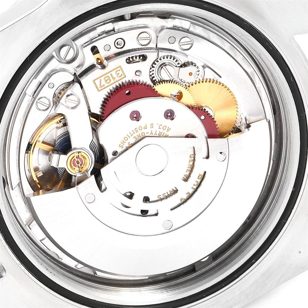 25316 Rolex Explorer II 42 White Dial Orange Hand Steel Mens Watch 216570 SwissWatchExpo