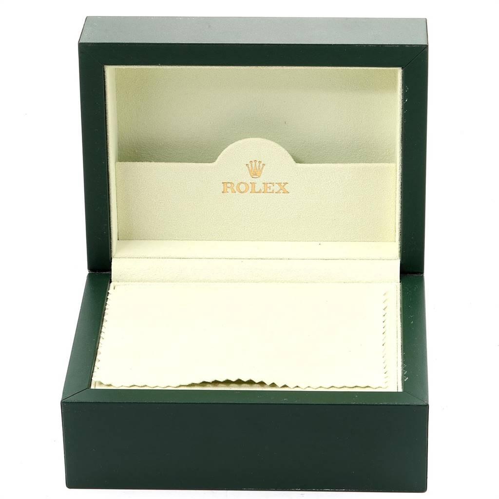 25223 Rolex Explorer II White Dial Red Hand Steel Mens Watch 16570 SwissWatchExpo
