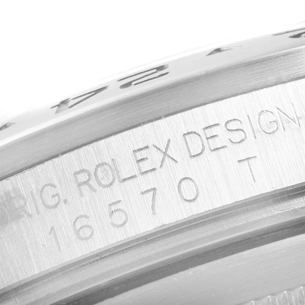Rolex Explorer II Black Dial Automatic Steel Mens Watch 16570 Box Papers SwissWatchExpo