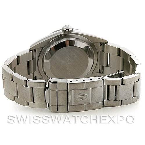 Rolex Mens Steel Rolex Explorer I 114270 circa 2007 Z Serial SwissWatchExpo