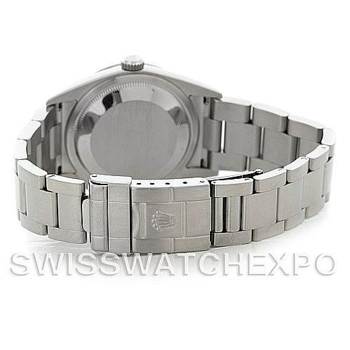 5261 Mens Rolex Explorer I Steel Watch 114270 SwissWatchExpo