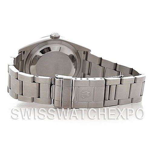 Mens Rolex Explorer I Steel Men's Watch 114270 SwissWatchExpo