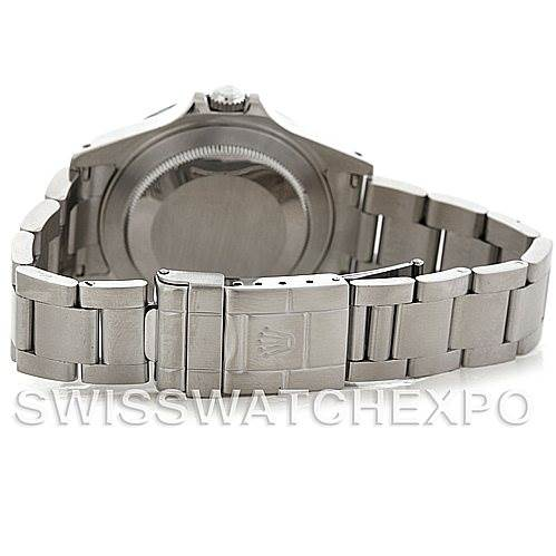 5538 Rolex Explorer II Mens Steel White Dial Watch 16570 SwissWatchExpo
