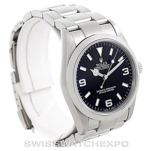 Rolex Explorer I Steel Mens Watch 114270 SwissWatchExpo
