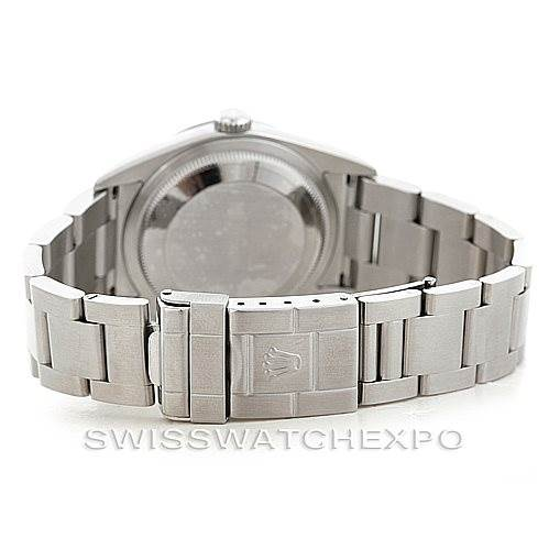 7005 Mens Rolex Explorer I Steel Mens Watch 114270 SwissWatchExpo