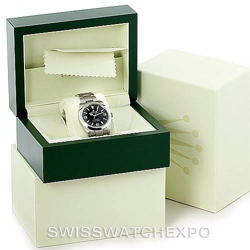 Rolex Explorer I Steel Mens Watch 214270 SwissWatchExpo
