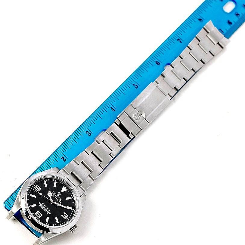 Rolex Explorer I Stainless Steel Mens Watch 214270 Unworn SwissWatchExpo