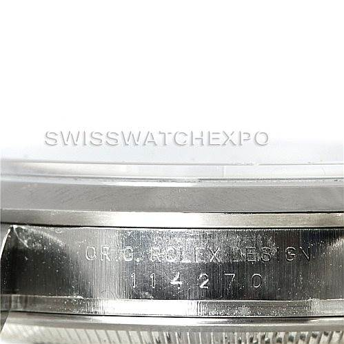 Rolex Explorer I Steel Mens Watch 114270 SwissWatchExpo