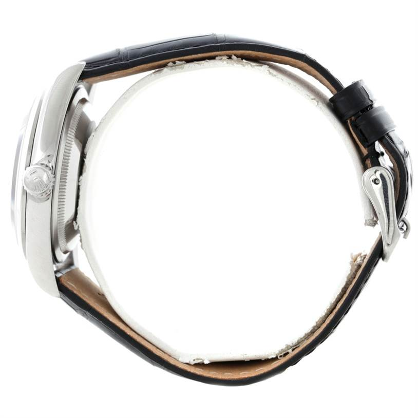 8356 Rolex Explorer I Mens Stainless Steel Watch 14270 SwissWatchExpo