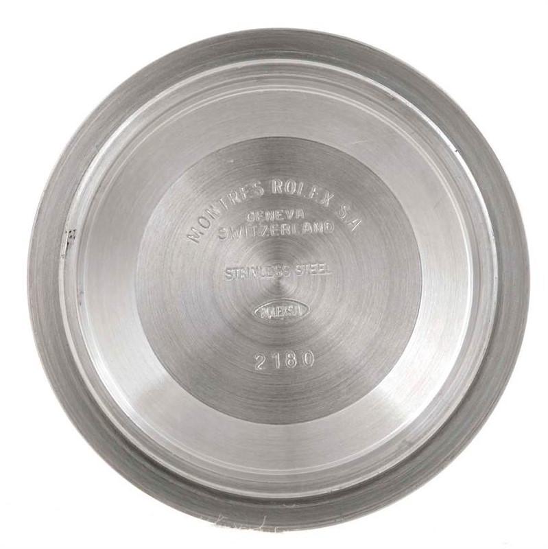 Rolex Explorer II White Dial Mens Stainless Steel Watch 16570 SwissWatchExpo