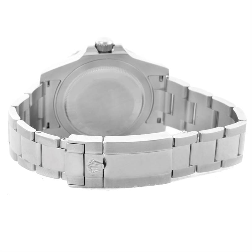 Rolex GMT Master II Ceramic Bezel Mens Steel Watch 116710 Box Papers SwissWatchExpo